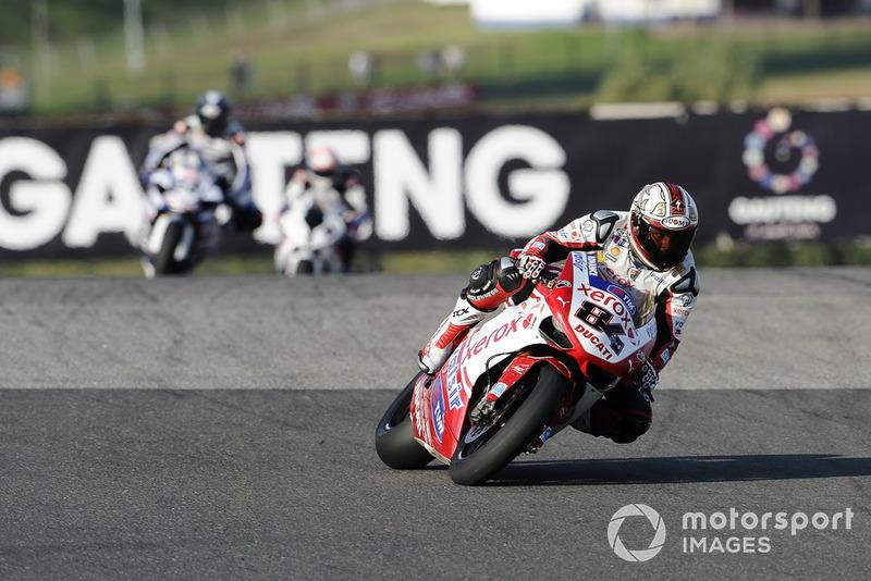 Michel Fabrizio, Ducati Team