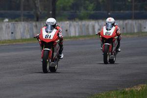 Anish Shetty and Rajiv Sethu, Idemitsu Honda Racing India by T.Pro Ten10