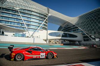 #51 Spirit of Race Ferrari F488 GT3: Christoph Ulrich, Tani Hanna, Kriton Lentoudis, Rui Aguas