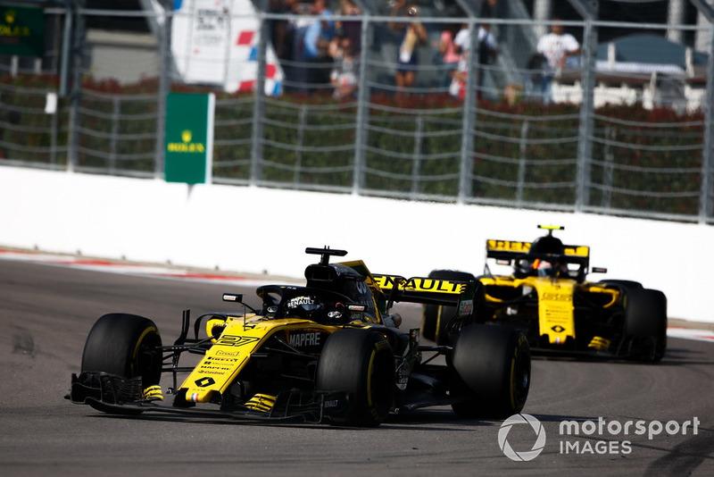 Nico Hulkenberg: Renault Sport F1 Team - 8 puan