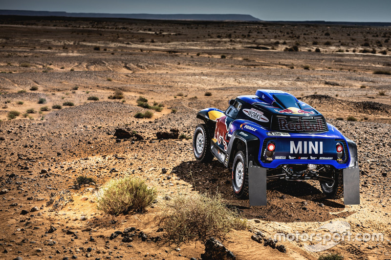 Carlos Sainz, Lucas Cruz, MINI John Cooper Works Buggy, X-raid MINI JCW Team