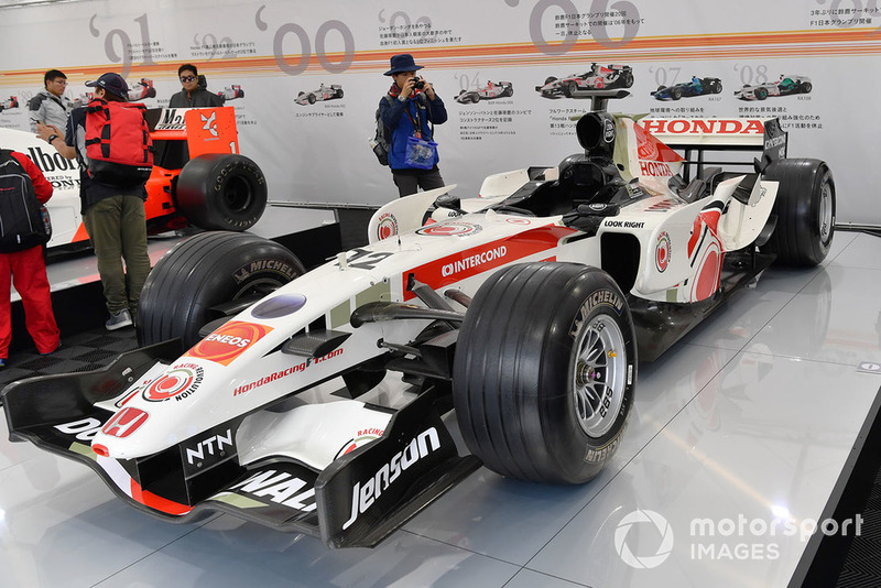 Автомобиль BAR Honda 006