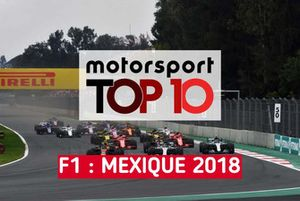 Top 10 F1 : Mexique