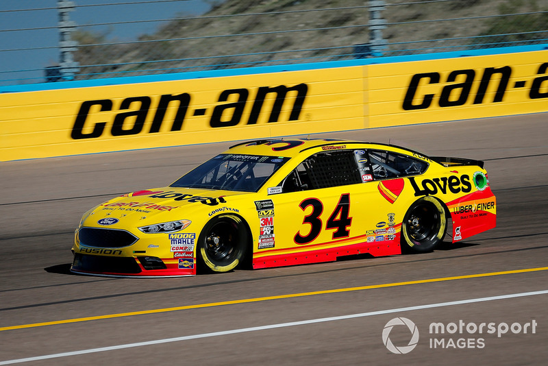 23. Michael McDowell, Front Row Motorsports, Ford Fusion Love's/ Luber Finer