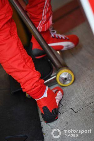 Sebastian Vettel, Ferrari Puma boots