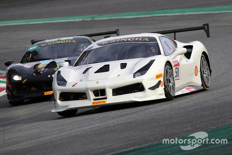 #511 Ferrari 488, Forza Motors Korea: Andrew Moon