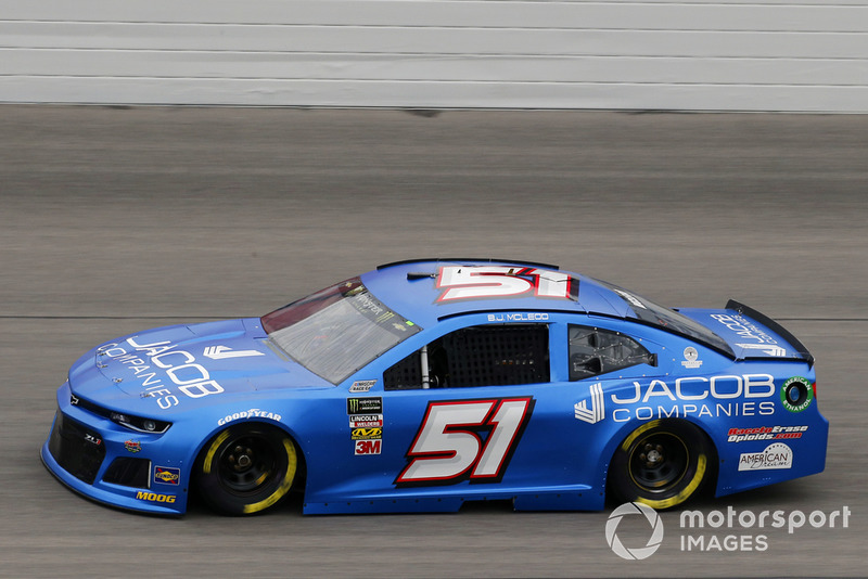 38. B.J. McLeod, Rick Ware Racing, Chevrolet Camaro Jacob Companies
