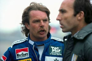 Keke Rosberg and Frank Williams