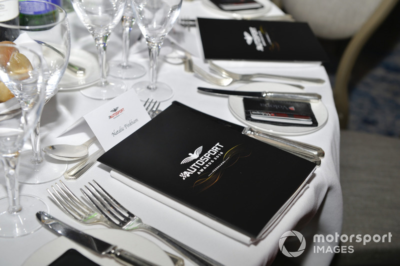 Table setting for Natalie Pinkham