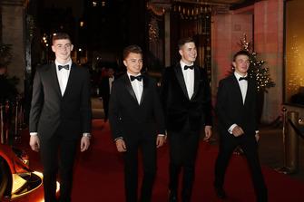 Номинанты McLaren Autosport BRDC Award Джейми Кэролайн, Том Гэмбл, Макс Фьютрелл и Кирн Джюисс