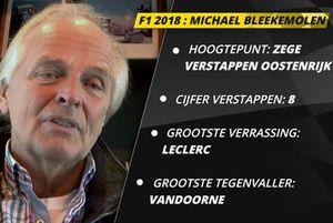 Michael Bleekemolen over het F1-seizoen 2018