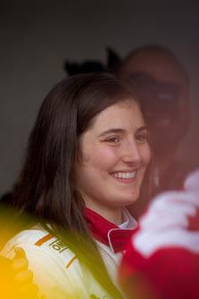 Tatiana Calderon, Sauber C37 Test Driver