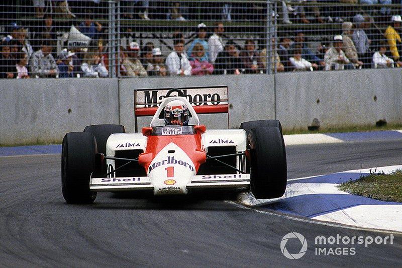 Na temporada seguinte, porém, Prost foi o campeão. E a McLaren conquistou seu tri no GP da Austrália de 1985.