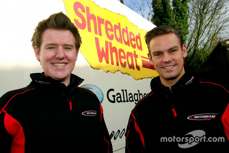 Tom Chilton, Motorbase Performance and Ollie Jackson, Motorbase Performance