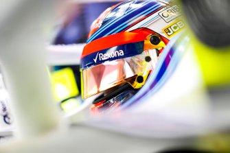 Robert Kubica, Williams Martini Racing, en su cabina