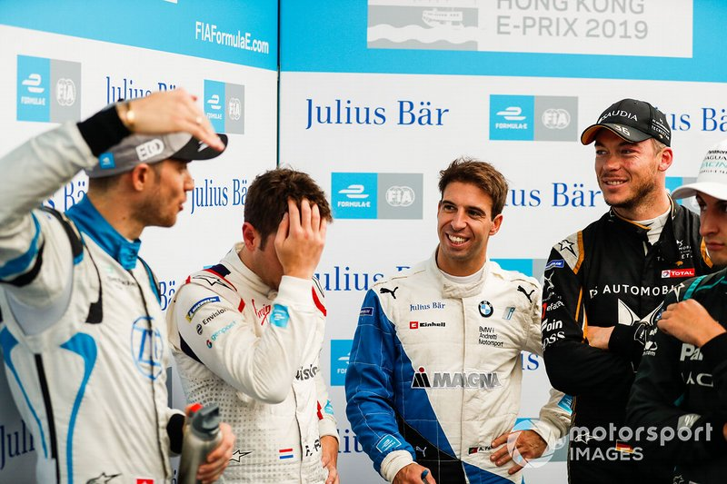 Edoardo Mortara, Venturi Formula E, Robin Frijns, Envision Virgin Racing, Antonio Felix da Costa, BMW I Andretti Motorsports, Andre Lotterer, DS TECHEETAH