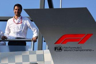 Michael Masi, director de carrera de la FIA