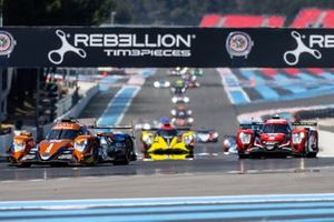 #26 G-Drive Racing Aurus 01 Gibson: Roman Rusinov, Job Van Uitert, Norman Nato leads
