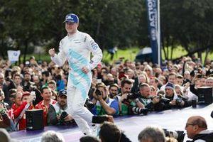 Stoffel Vandoorne, HWA Racelab, on his way to the podium
