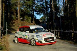 Fabio Poggio, Valentina Briano, Suzuki SWIFT 1.0 Boosterjet R1B, Alma Racing