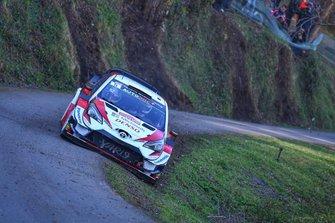 Kris Meeke, Seb Marshall, Toyota Yaris WRC, Tour de Corse