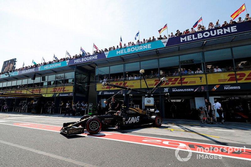 Кевін Магнуссен, Haas F1 Team VF-19