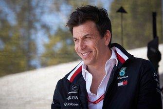 Тото Вольф, руководитель Mercedes AMG