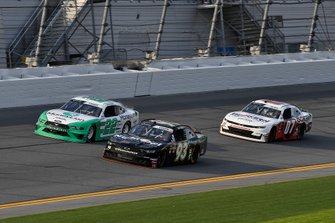 Jeff Green, RSS Racing, Chevrolet Camaro RSS Racing, Austin Cindric, Team Penske, Ford Mustang MoneyLion, and Ray Black II, SS Green Light Racing, Chevrolet Camaro ISOKERN-CDA