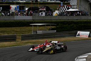 Colton Herta, Harding Steinbrenner Racing Honda, Marcus Ericsson, Arrow Schmidt Peterson Motorsports Honda