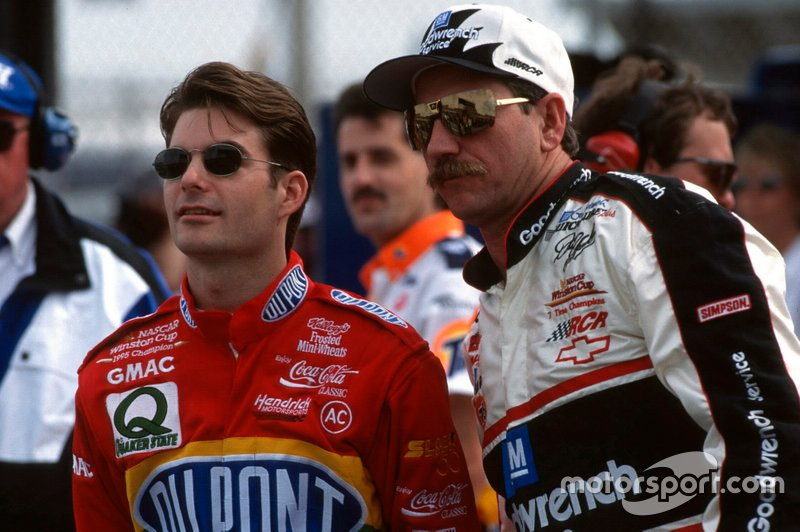 Jeff Gordon, Henrick Motorsports y Dale Earnhardt, Richard Childress Racing