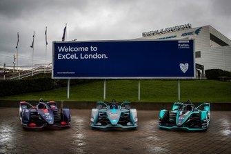 Объявление о этапе Формулы Е в Лондоне