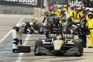 James Hinchcliffe, Arrow Schmidt Peterson Motorsports Honda pitstop
