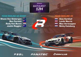Team Redline Bathurst 12 Hour line-up