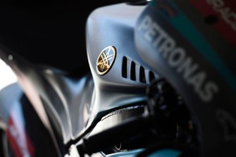Petronas Yamaha SRT bike detail
