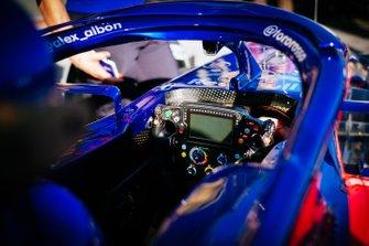 Le cockpit de la Toro Rosso STR14