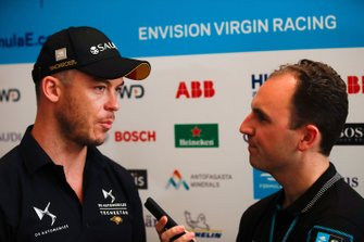 Andre Lotterer, DS TECHEETAH talks to the press