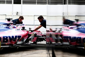 Sergio Perez, Racing Point F1 Team RP19 reflection