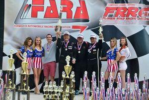 Amadeo Quirós Jr., Amadeo Quirós Sr., Juan Fayen & Angel Benitez Jr. of Formula Motorsport