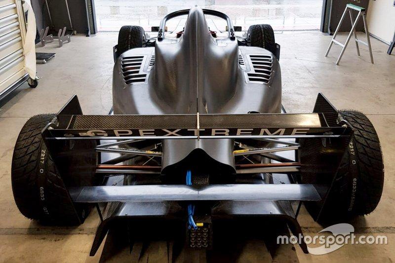 Coche de Federico Malvestiti, BhaiTech Racing