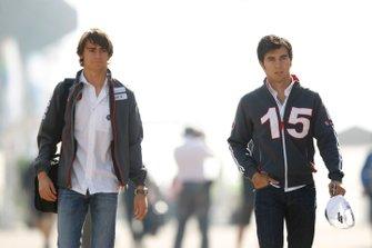 Esteban Gutierrez e Sergio Perez