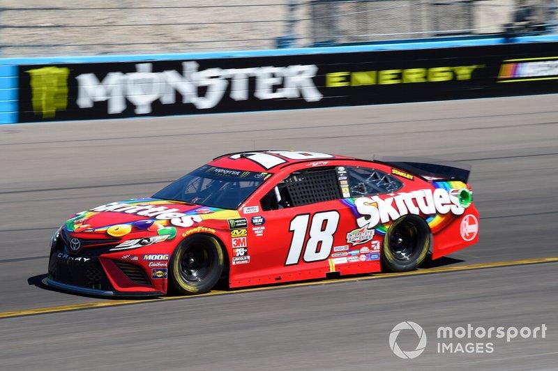 9. Kyle Busch, Joe Gibbs Racing, Toyota Camry
