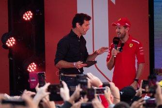 Mark Webber, Sebastian Vettel, Ferrari