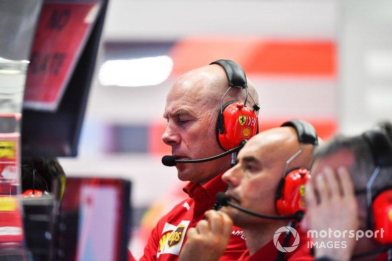 Jock Clear, Ferrari.