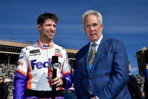 Denny Hamlin, Joe Gibbs Racing, mit Darrell Waltrip