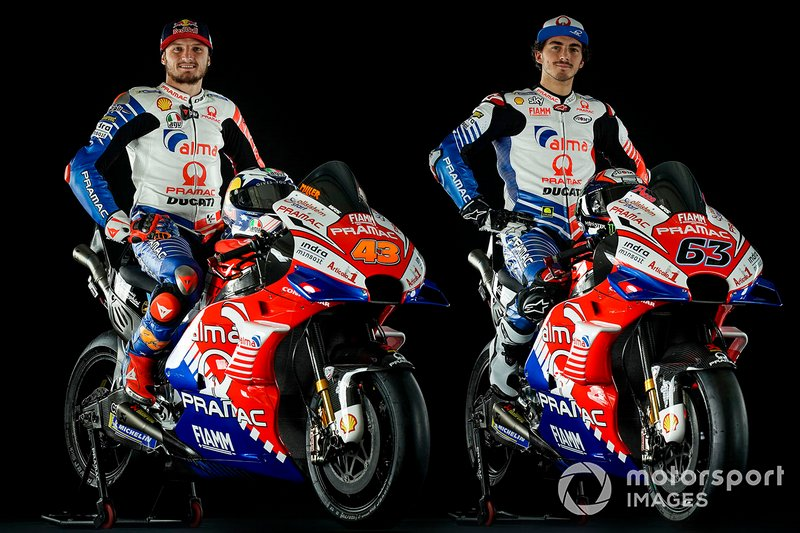 Jack Miller ve Francesco Bagnaia, Pramac Racing