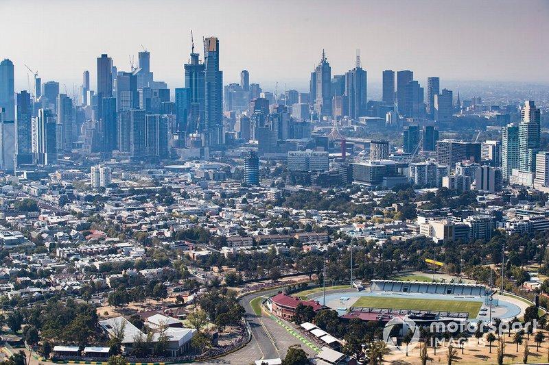 Melbourne es testigo de la carrera