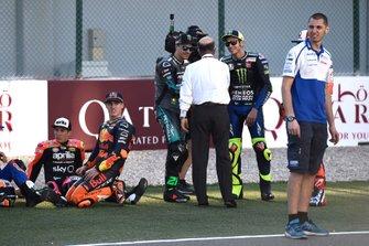 Franco Morbidelli, Petronas Yamaha SRT, Valentino Rossi, Yamaha Factory Racing, Ezpelleta