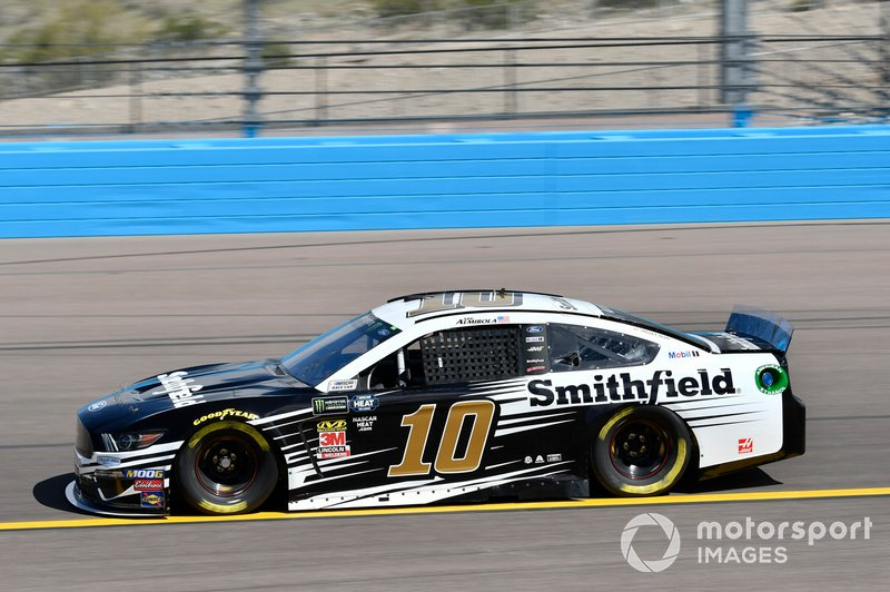 4. Aric Almirola, Stewart-Haas Racing, Ford Mustang
