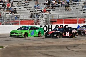 Ryan Newman, Roush Fenway Racing, Ford Mustang Acorns, Clint Bowyer, Stewart-Haas Racing, Ford Mustang Haas Automation