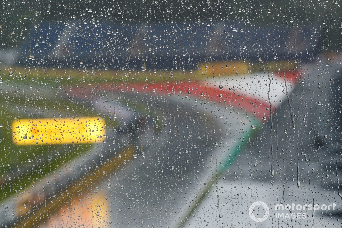 Lluvia en el Red Bull Ring